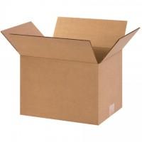 "Corrugated Boxes, 12 x 9 x 8"", Kraft"
