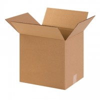 "Corrugated Boxes, 12 x 8 x 12"", Kraft"