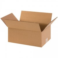 "Corrugated Boxes, 12 x 8 x 5"", Kraft"