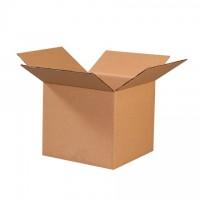 "Corrugated Boxes, 9 x 9 x 8"", Kraft"