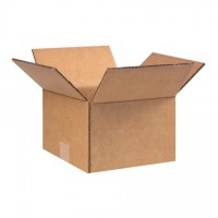 "Double Wall Corrugated Boxes, 9 x 9 x 6 1/2"", 48 ECT"