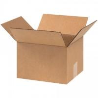 "Corrugated Boxes, 9 x 8 x 6"", Kraft"