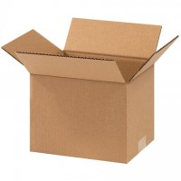 "Corrugated Boxes, 9 x 7 x 7"", Kraft"