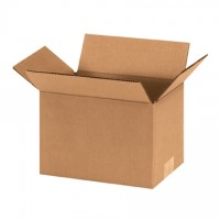 "Corrugated Boxes, 9 x 6 x 6"", Kraft"