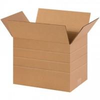"""Corrugated Boxes, Multi-Depth, 14 x 10 x 10"""""""