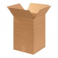 """Corrugated Boxes, Multi-Depth, 12 x 12 x 18"""""""