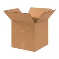 """Corrugated Boxes, 12 x 12 x 12"""", Multi-Depth, Cube"""