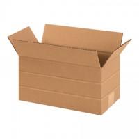 """Corrugated Boxes, Multi-Depth, 12 x 6 x 6"""""""