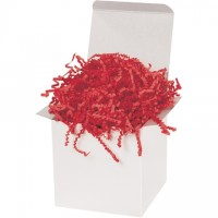 Crinkle Paper, Red, 40 Pounds