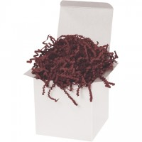 Crinkle Paper, Burgundy, 10 Pounds
