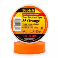 "3M 35 Electrical Tape, 3/4"" x 66', Orange"