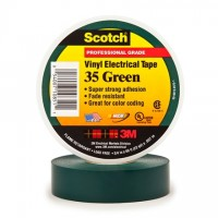 "3M 35 Electrical Tape, 3/4"" x 66', Green"