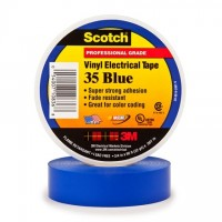 "3M 35 Electrical Tape, 3/4"" x 66', Blue"
