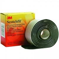 """3M Scotchfil™ Electrical Putty, 1 1/2"""" x 5', Black"""