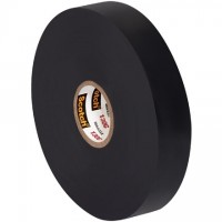 "3M 130C Linerless Electrical Tape, 3/4"" x 30', Black"