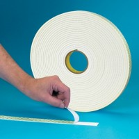 "3M 4032 Double Sided Foam Tape, 1/32"" Thick - 1/2"" x 72 yds."