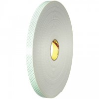 """3M 4008 Double Sided Foam Tape, 1/8"""" Thick - 1"""" x 36 yds."""