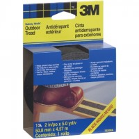 "3M 7635NA Safety-Walk™ Tape, 2"" x 15', Black"