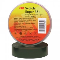 "3M 33+ Electrical Tape, 3/4"" x 66', Black"