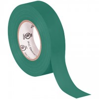 "Electrical Tape, 3/4"" x 20 yds., Green"