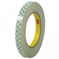 "3M 410M Double Sided Masking Tape, 1/2"" x 36 yds., 6 Mil Thick"