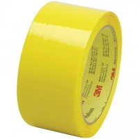 "3M 373 Tape, Yellow, 2"" x 55 yds., 2.5 Mil Thick"