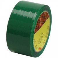 "3M 373 Tape, Green, 2"" x 55 yds., 2.5 Mil Thick"