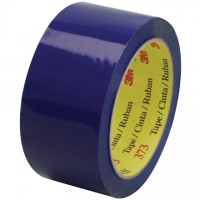 "3M 373 Tape, Blue, 2"" x 55 yds., 2.5 Mil Thick"