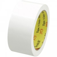 "3M 373 Tape, White, 2"" x 55 yds., 2.5 Mil Thick"