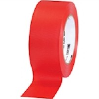 "3M 3903 Red Duct Tape, 2"" x 50 yds., 6.2 Mil Thick"