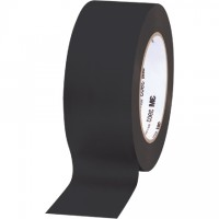 "3M 3903 Black Duct Tape, 2"" x 50 yds., 6.3 Mil Thick"