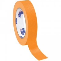 "Orange Masking Tape, 1"" x 60 yds., 4.9 Mil Thick"