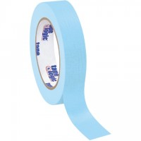 "Light Blue Masking Tape, 1"" x 60 yds., 4.9 Mil Thick"