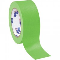 "Light Green Masking Tape, 2"" x 60 yds., 4.9 Mil Thick"