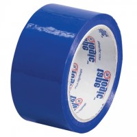 "Blue Carton Sealing Tape, 2"" x 55 yds., 2.2 Mil Thick"