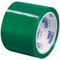 "Green Carton Sealing Tape, 3"" x 55 yds., 2.2 Mil Thick"