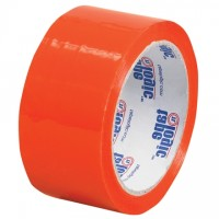 "Orange Carton Sealing Tape, 2"" x 55 yds., 2.2 Mil Thick"
