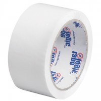 "White Carton Sealing Tape, 2"" x 55 yds., 2.2 Mil Thick"