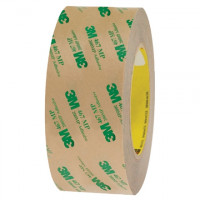 """3M 467MP High Performance Adhesive Transfer Tape, 2"""" x 60 yds., 2 Mil Thick"""