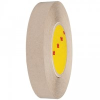 "3M 9627 General Purpose Adhesive Transfer Tape, 1"" x 60 yds., 5 Mil Thick"
