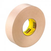 "3M 346 Natural Flatback Masking Tape, 12"" x 60 yds., 16.7 Mil Thick"