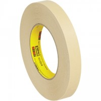 "3M 231 Masking Tape, 3/4"" x 60 yds., 7.6 Mil Thick"