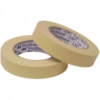 "3M 2307 Masking Tape, 1/2"" x 60 yds., 5.2 Mil Thick"