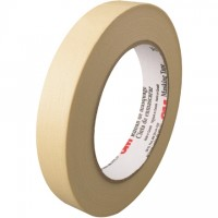 "3M 203 Masking Tape, 3/4"" x 60 yds., 4.7 Mil Thick"