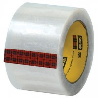 """3M 355 Tape, Clear, 3"""" x 55 yds., 3.5 Mil Thick"""