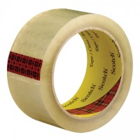 "3M 3743 Tape, Clear, 2"" x 55 yds., 2.6 Mil Thick"
