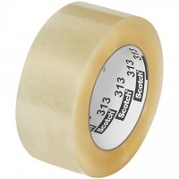 """3M 313 Tape, Clear, 2"""" x 110 yds., 2.5 Mil Thick"""