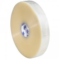 """Clear Machine Carton Sealing Tape, Economy, 2"""" x 1000 yds., 3 Mil Thick"""
