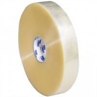 """Clear Machine Carton Sealing Tape, Economy, 2"""" x 1000 yds., 2.5 Mil Thick"""