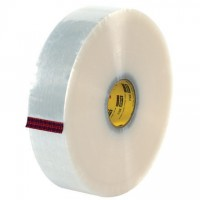 """Clear Machine Carton Sealing Tape,, 3"""" x 1000 yds., 3 Mil Thick"""